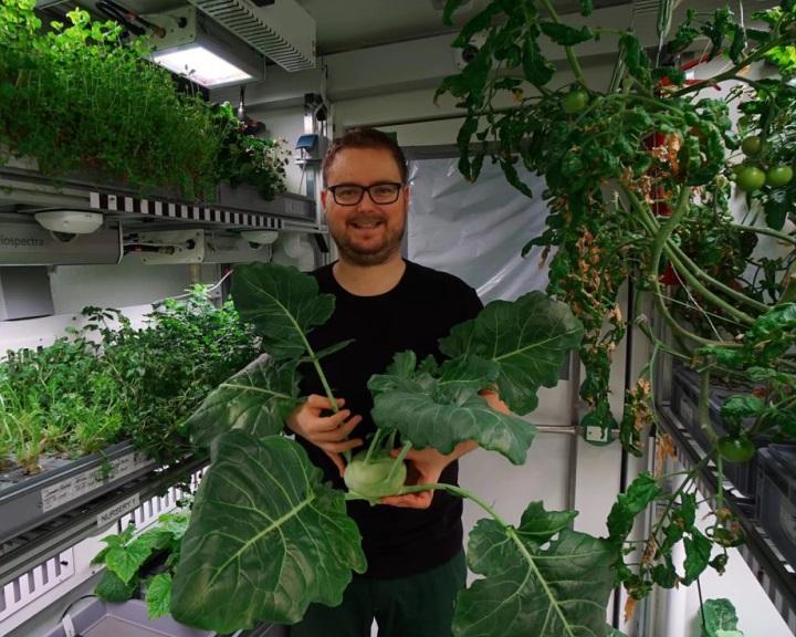 Marsi körülmények között termesztettek zöldségeket a Déli-sarkvidéken