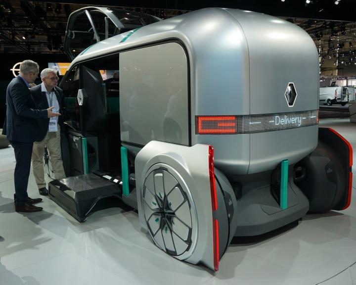 Elektromos robotjárművet fejlesztett ki a Renault