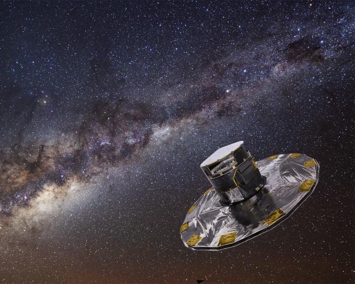Galaxisunkon átszáguldó csillagokat észlelt a Gaia