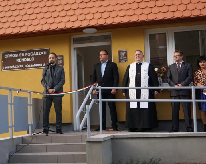Százmillióból újították fel az észak-baranyai Szászvár rendelőjét