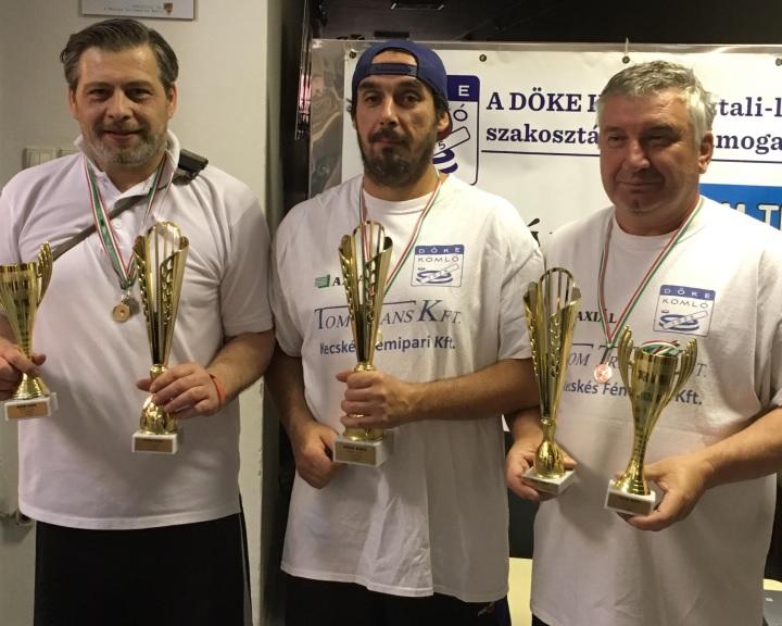 NB I.: Fantasztikus bravúrral 4. helyről lett ezüstérmes a DÖKE Komló
