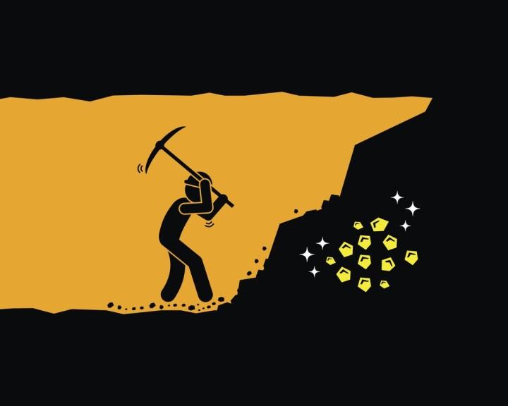 Kriptovalutát bányászni több energiába kerül, mint aranyat