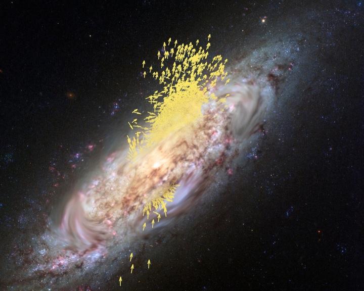 A fiatal Tejútrendszer megevett egy méretes galaxist