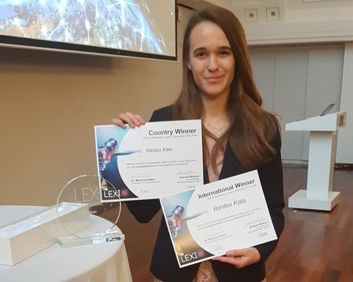 Pécsi egyetemista nyert egy nemzetközi mesterséges intelligencia versenyen