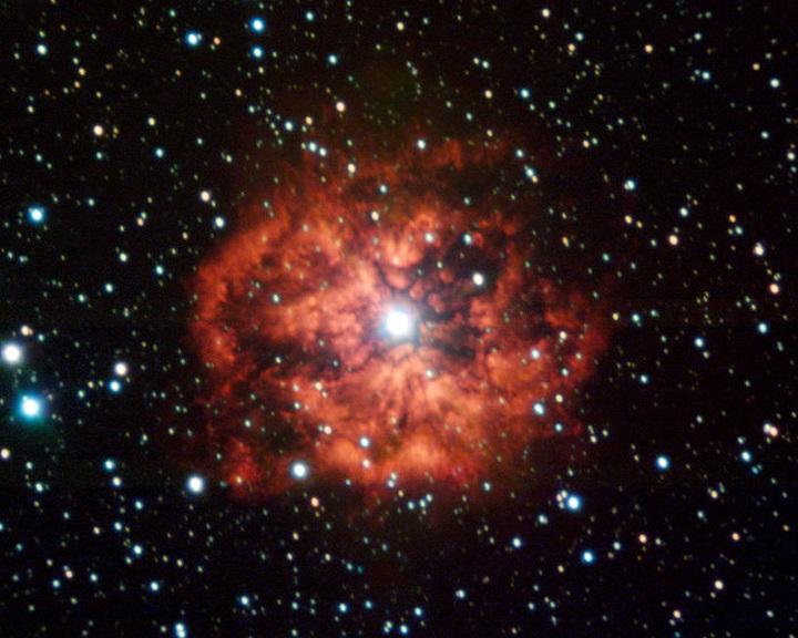 Rövidesen intenzív gammasugarakkal áraszthatja el galaxisunkat egy haldokló naprendszer