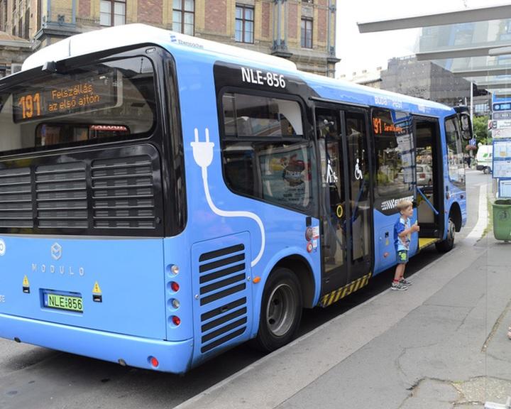 Pécs 1,7 milliárd forintot nyert el elektromos buszok beszerzésére