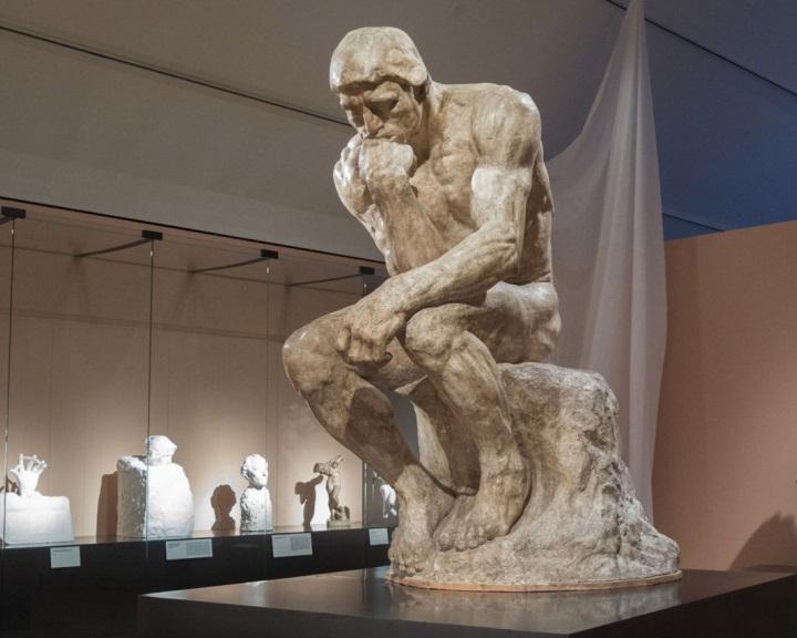 Újfajta 3D-s nyomtatással készítették el Rodin szobrának kicsinyített mását