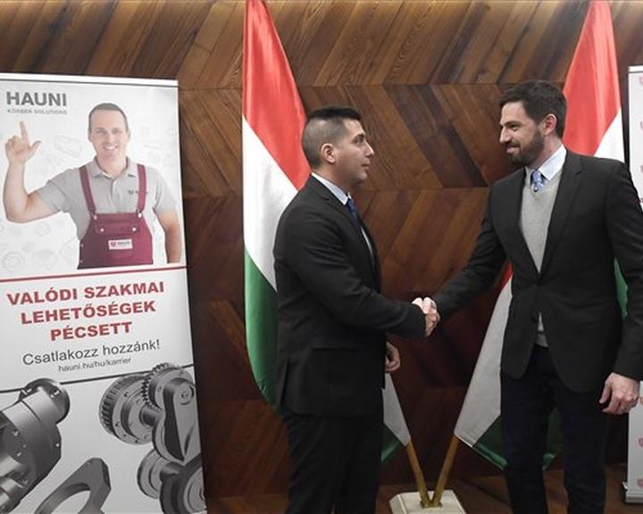 A magyar állam támogatja a pécsi Hauni fejlesztéseit