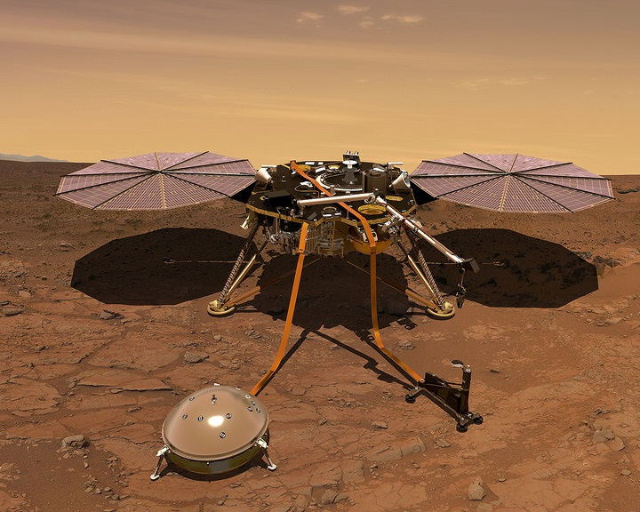 Rendszeres időjárás-jelentést küld a Marsról az Insight űrszonda
