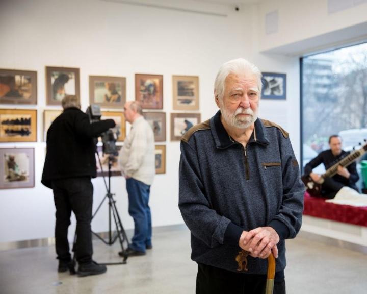Sára Sándor fotóiból nyílt kiállítás a TÉR-KÉP Galériában
