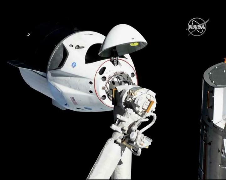 Megérkezett a SpaceX űrhajója a Nemzetközi Űrállomásra