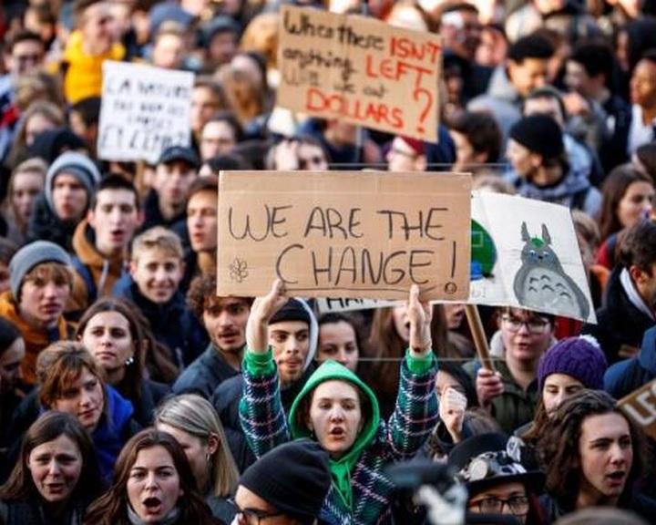 Március 15-re globális demonstrációt hirdettek a környezetvédelemért tüntető diákok