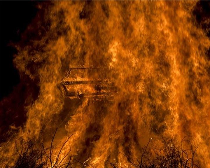 A máglyagyújtással és a koporsóégetéssel véget ért a mohácsi busójárás