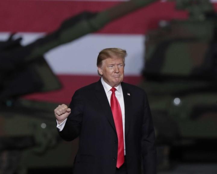 Trump: 400 amerikai katona marad Szíriában