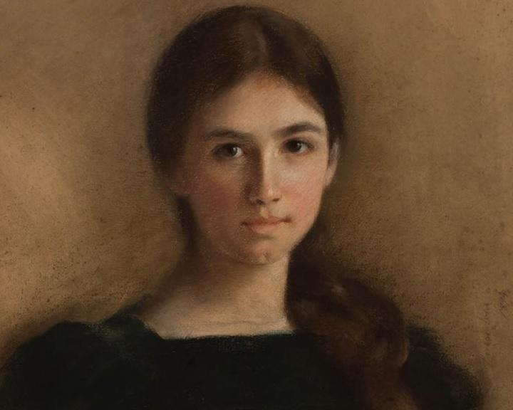 Inez mosolya – új kamarakiállítás a Képtárban Kosári Aurél magángyűjteményéből