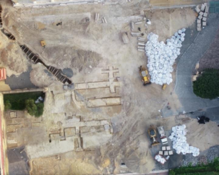 Feltárulnak a Dóm téri régészeti kutatások kulisszatitkai