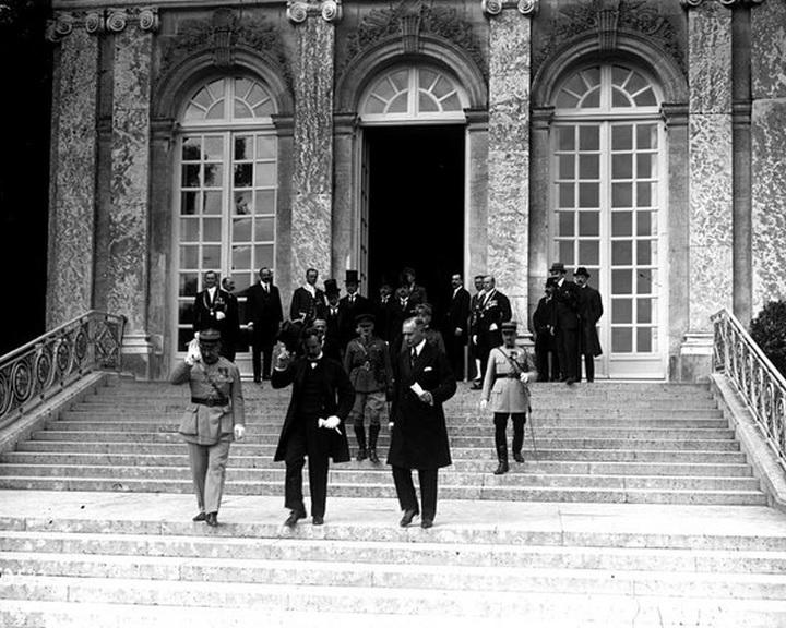 Hiábavaló volt a magyar delegáció minden érvelése a trianoni béke feltételeivel szemben