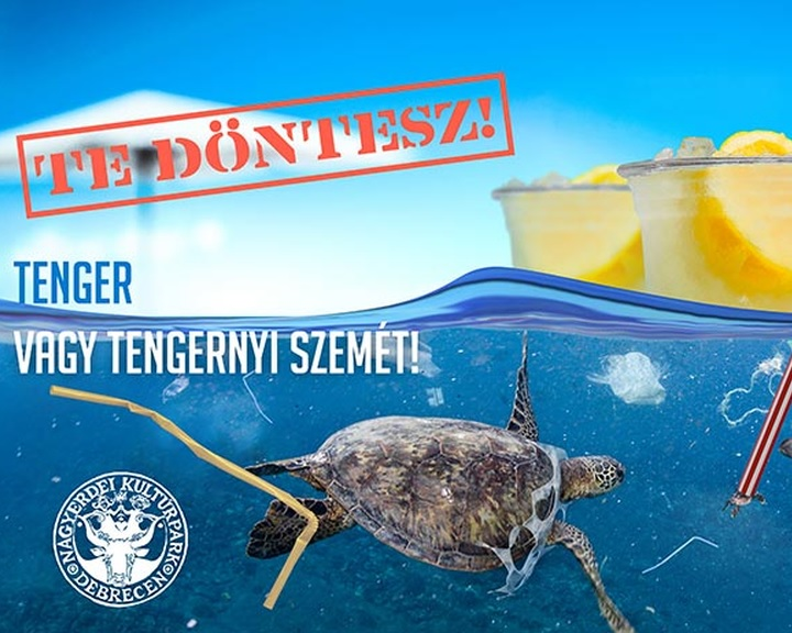 Kitiltották az egyszer használatos műanyag eszközöket a debreceni állatkertből és vidámparkból