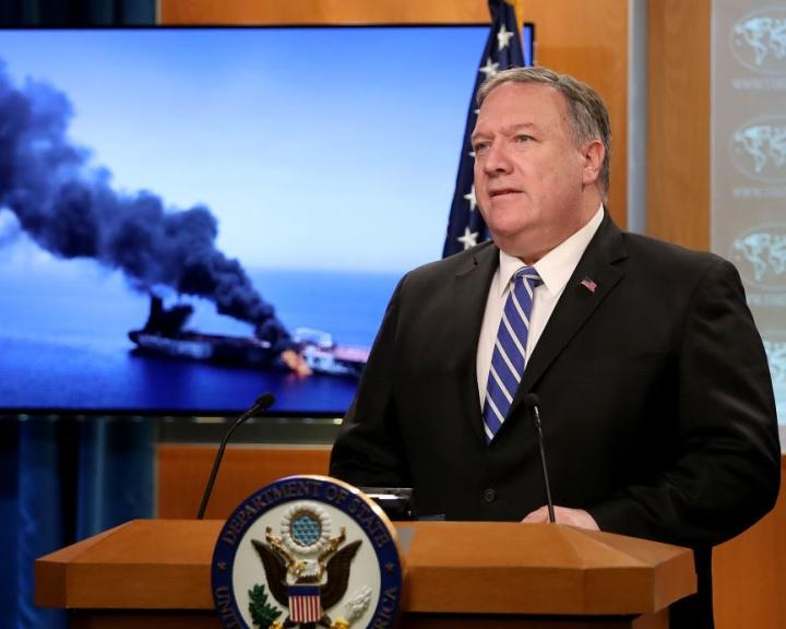 Washington Teheránt tartja felelősnek az Ománi-öbölben történt incidensért