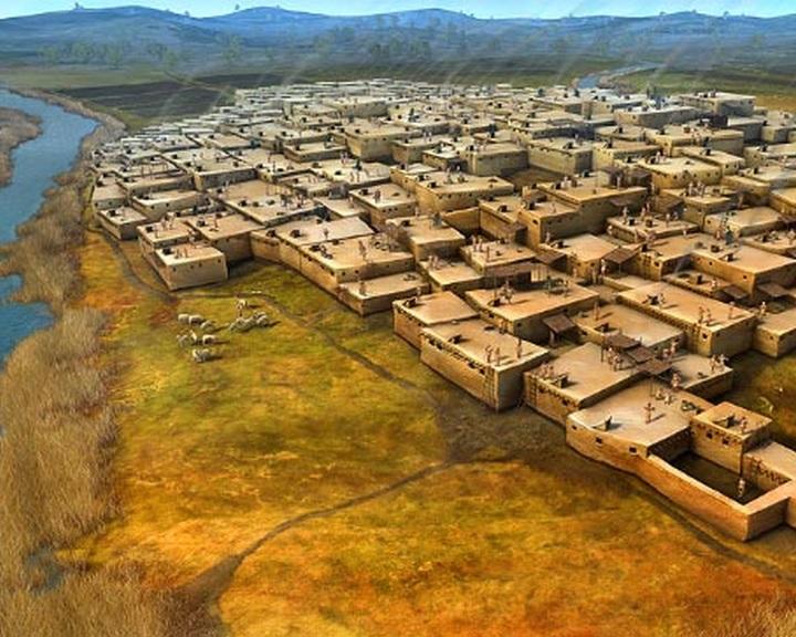 Már az első nagy mezőgazdasági közösségek is a modern városok problémáival néztek szembe