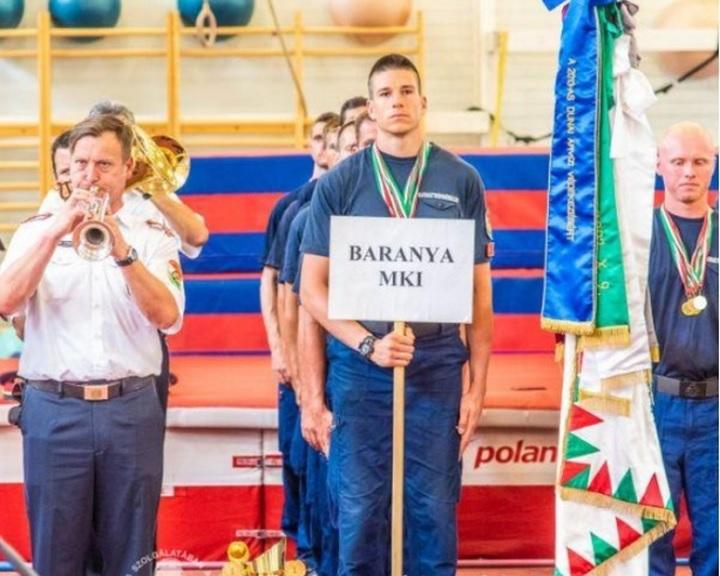 A baranyai tűzoltók csapata nyerte meg az országos tűzoltó sportversenyt