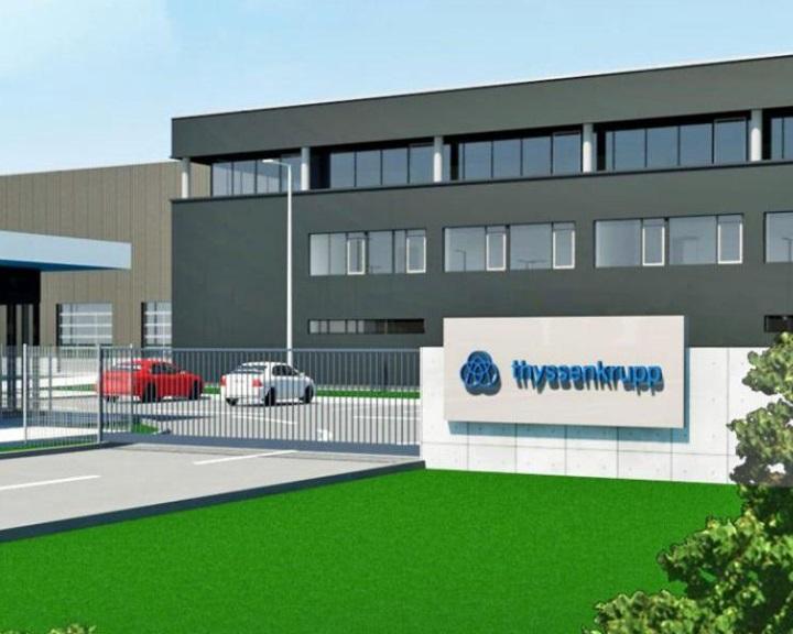 Pécsen bővíti magyarországi gyártását a Thyssenkrupp