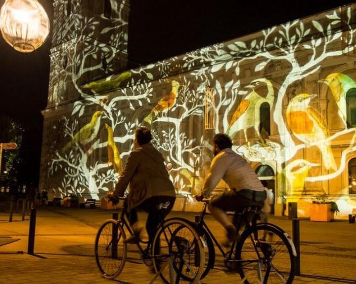 Lenyűgöző fényattrakciók a Zsolnay Fényfesztiválon Pécsen