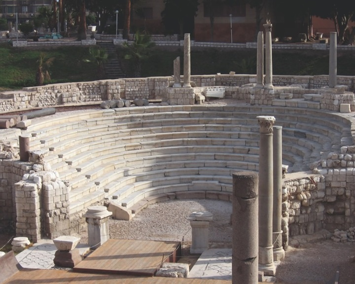 Római kori város maradványait tárták fel régészek Alexandria óvárosában