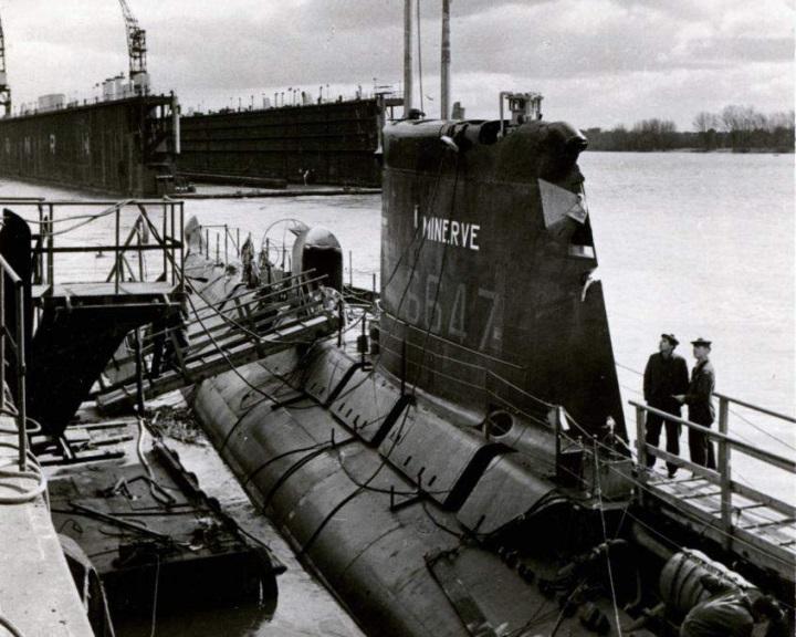 Megtaláltak egy 1968-ban eltűnt francia tengeralattjárót