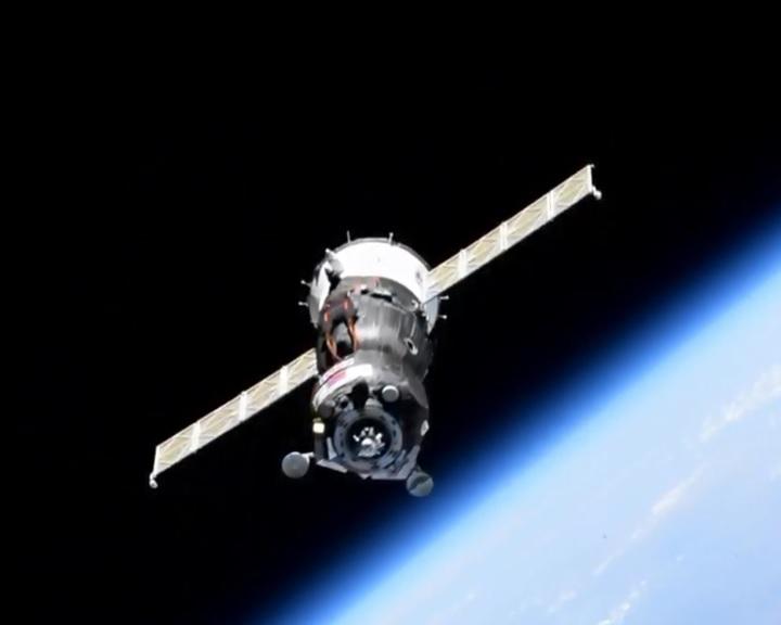 Csatlakozott a Nemzetközi Űrállomáshoz az androidot szállító Szojuz MSZ-14