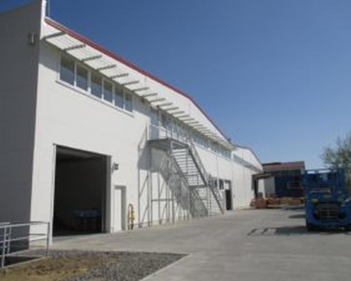 Közel kétmilliárd forintból épített gyártó- és raktárcsarnokot a pécsi Honsa Kft.