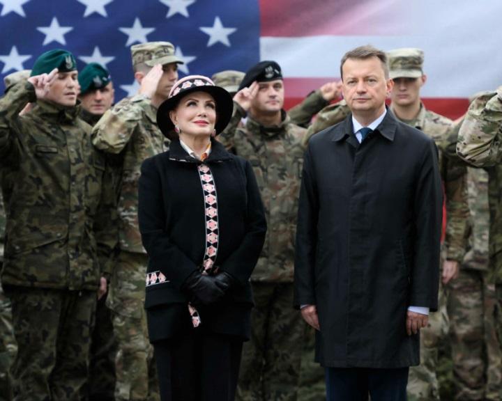 Lengyelországban létrehozták az előretolt amerikai hadosztály-parancsnokságot