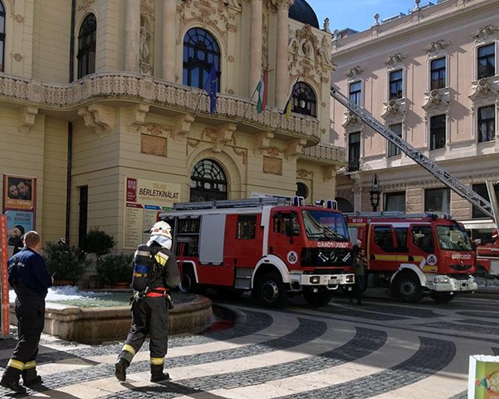 Katasztrófavédelmi gyakorlatot tartanak szerdán Pécsen