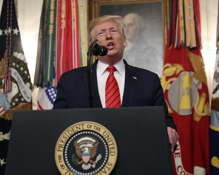 Trump hivatalosan bejelentette Abu Bakr al-Bagdadi megölését