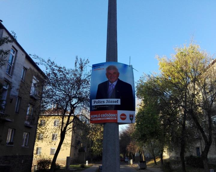 Polics József kapta a legtöbb szavazatot a megismételt választáson Komlón