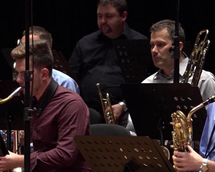 Koncertet ad az újjáalakult Pannon Big Band Pécsen