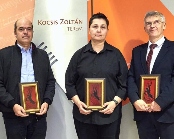 Hárman vehették át a Pannon Filharmonikusok zenekar által alapított Lickl-díj kitüntetést