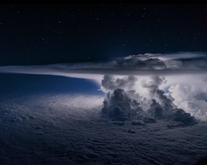 Viharok idején gamma-sugárzást bocsát ki a Föld