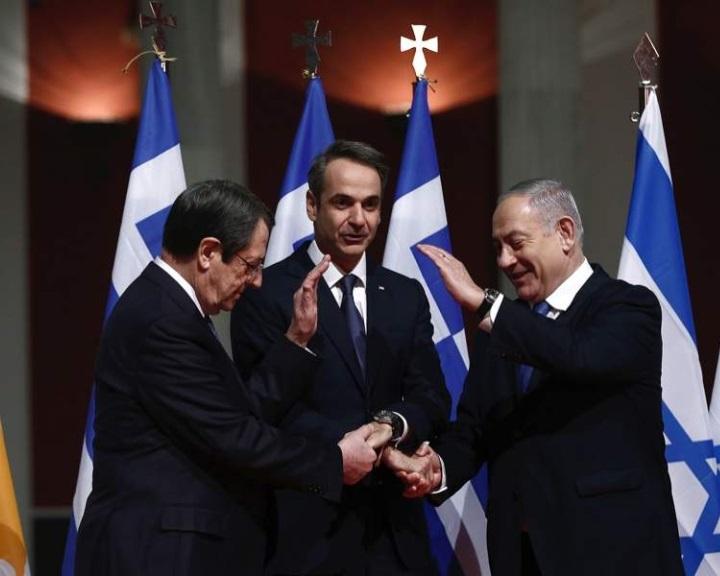 Aláírták az izraeli gáz Európába szállításáról szóló EastMed egyezményt