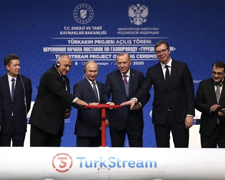 Putyin és Erdogan felavatta a Török Áramlat gázvezeték fekete-tengeri szakaszát