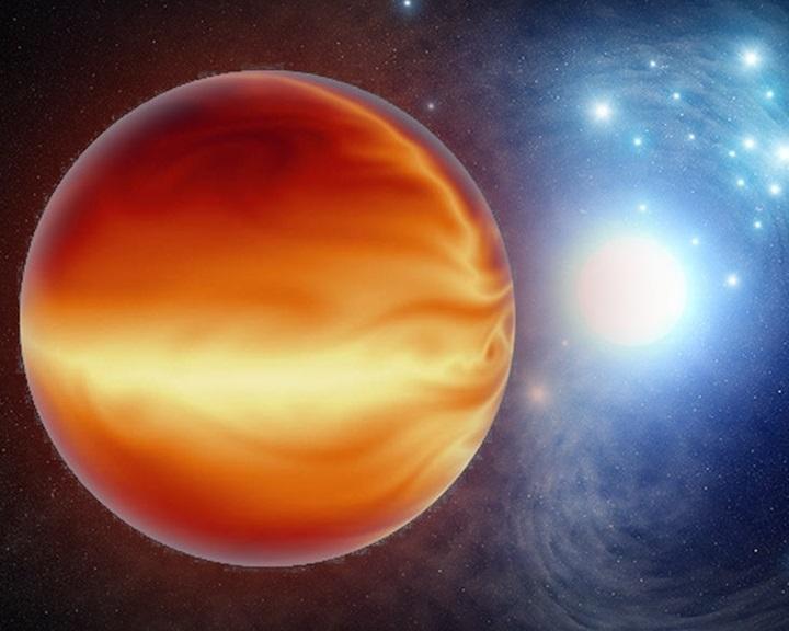 A hidrogénmolekulák is darabokra esnek a legforróbb exobolygón