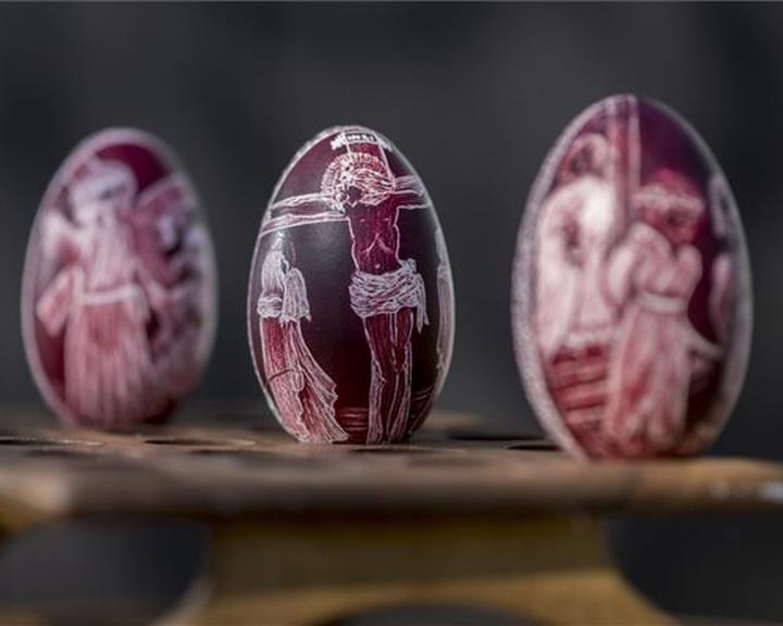 Online tartalmakat kínál húsvétra a zengővárkonyi Míves Tojás Múzeum