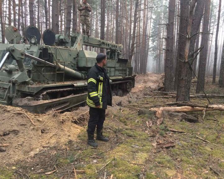 Szabotázsellenes műveletet indítottak a csernobili és zsitomiri tüzek miatt
