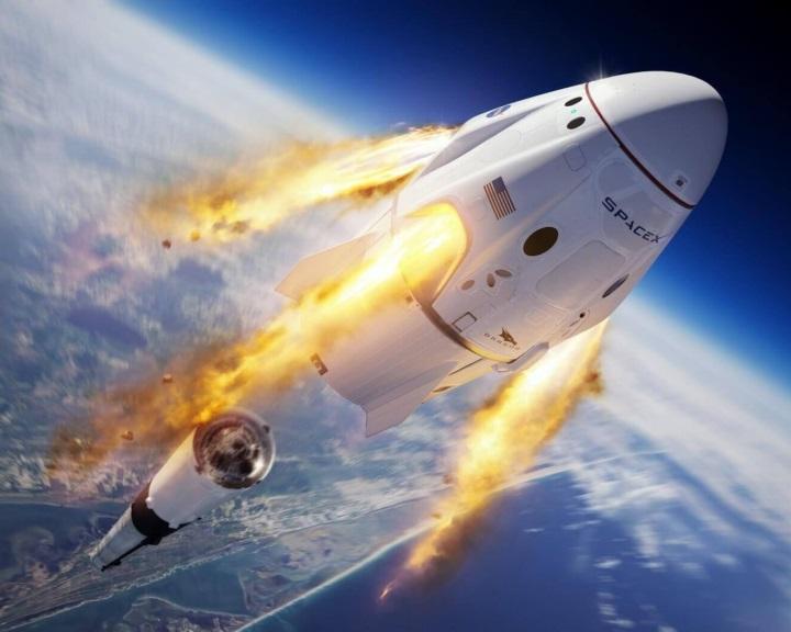Május 27-én repülhet először emberrel a SpaceX