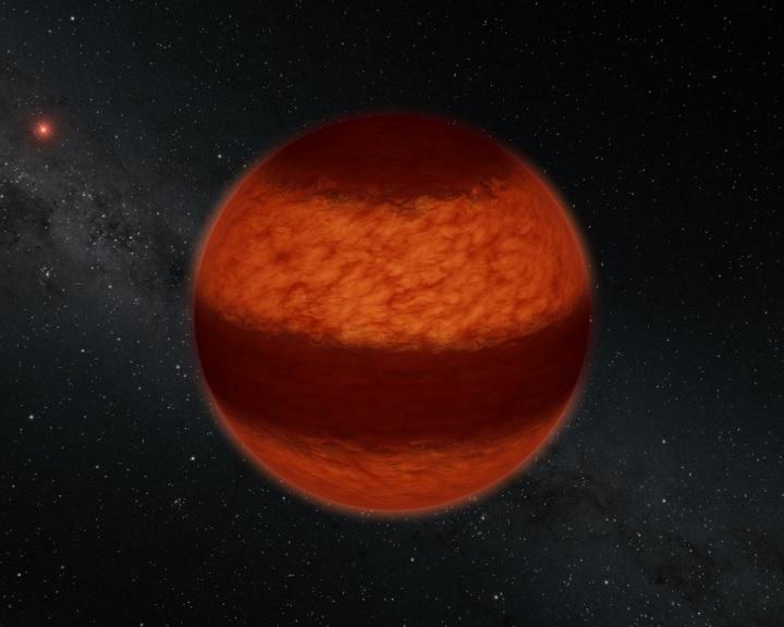 A Jupiteréhez hasonló felhőöveket fedeztek fel a legközelebbi barna törpén