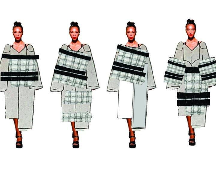 Victor Vasarely művészete nyomán terveznek ruhákat a METU hallgatói