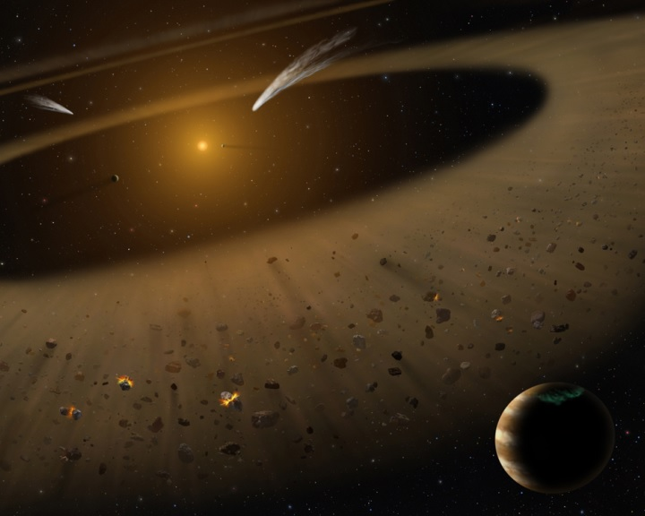 Galaktikus ütközés indíthatta el a Naprendszer kialakulását
