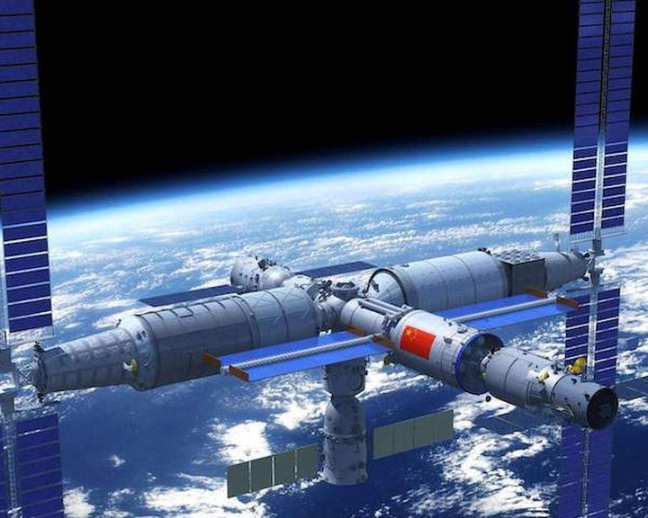Három év alatt épül meg a kínai űrállomás