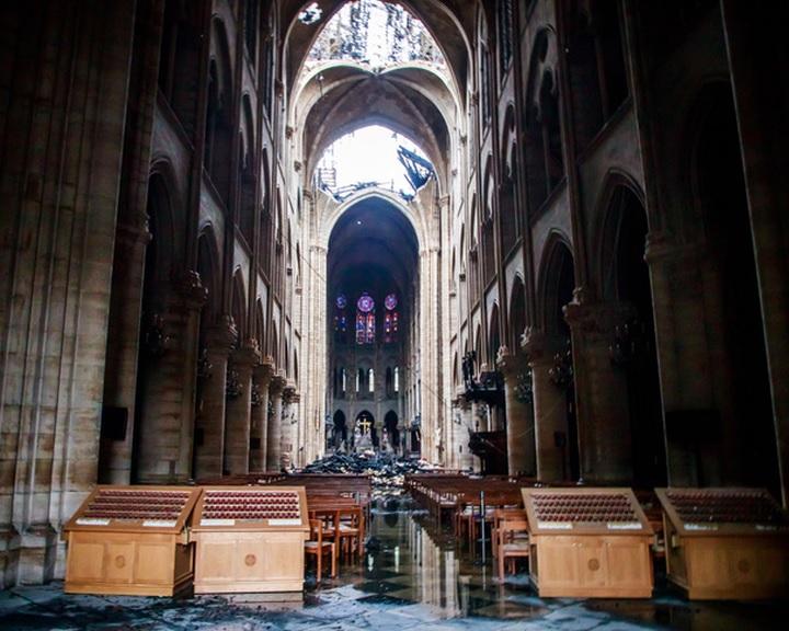 Notre-Dame - Szeptemberben befejeződhet a leégett huszártorony körüli állványzat elbontása