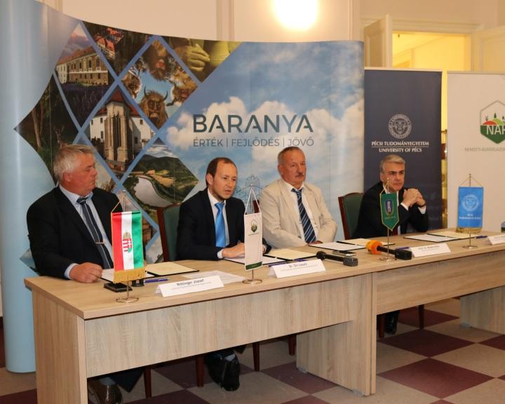 Agrárképzések fejlesztését szolgáló együttműködés jött létre Baranyában